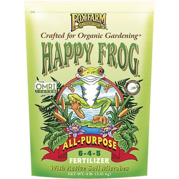 FoxFarm Happy Frog All Purpose Dry Fertilizer