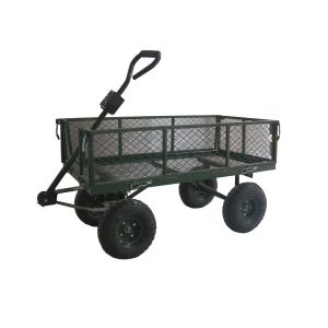 38 x 20 Inch Garden Cart With Sides