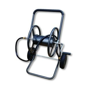 Two Wheel Hose Reel Cart With 200 ft Hose Capacity