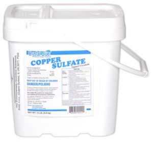 Crystal Blue Copper Sulfate Treatment Granules
