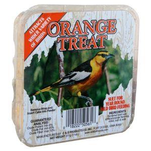 C&S Generic 11 Ounce Orange Treat Suet