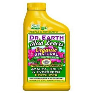 Dr. Earth Acid Lovers Organic and Natural Premium Concentrate Fertilizer