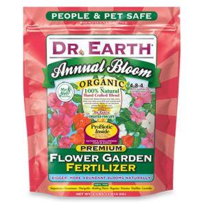 Dr. Earth Annual Bloom Flower Garden Fertilizer 3-7-4