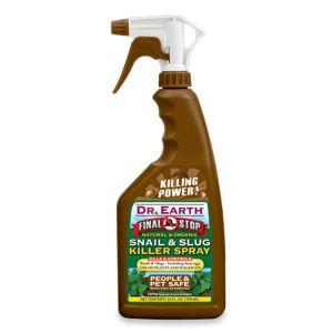 Dr. Earth Final Stop Brown Snail & Slug Killer RTU Spray