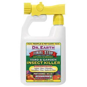 Dr. Earth Final Stop Natural & Organic Yard & Garden Insect Killer Hose End Spray