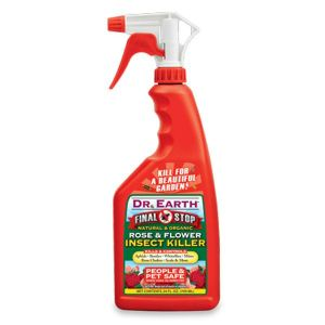 Dr. Earth Final Stop Rose & Flower Insect Killer RTU Spray