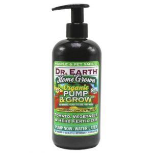 Dr. Earth Home Grown Organic Pump & Grow Tomato Vegetable & Herb Fertilizer