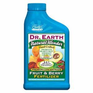 Dr. Earth Natural Wonder Fruit & Berry Fertilizer Concentrate
