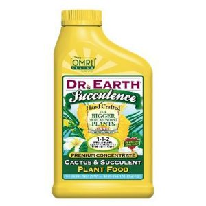 Dr. Earth Succulence Cactus & Succulent Food Concentrate