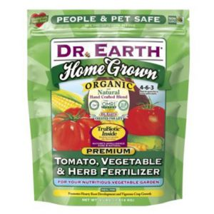 Dr. Earth Home Grown Organic and Natural Tomato Vegetable and Herb Fertilizer