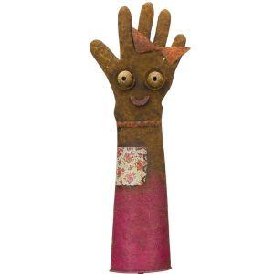 Groovy Glove Stake - Pink
