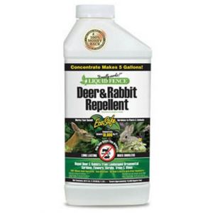 Liquid Fence Deer and Rabbit Repellent Concentrate