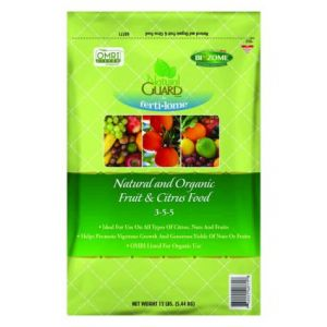 Natural Guard Organic Fruit & Citrus Food 3-5-5