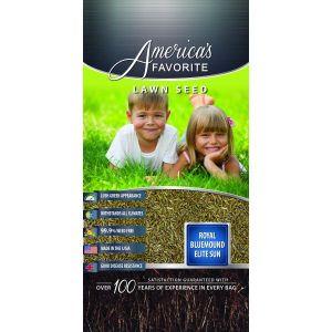 America's Favorite Lawn Seed Royal Bluemound Elite Sun