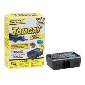 Tomcat Mouse Killer Single Disposable Bait Station