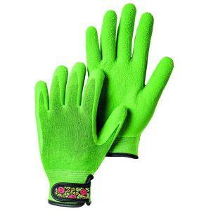 Hestra Green Garden Bamboo Foam Latex Dip Gloves