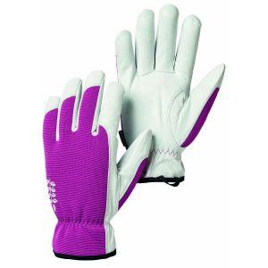 Hestra Fuchsia Kobolt Garden Goatskin Gloves
