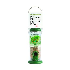Jacobi Jayne To-S1G Green Ring Pull Seed Feeder