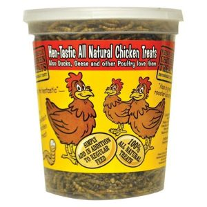 Henastic All Natural Chicken Treats Dried Mealworms