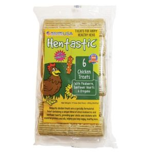 Hentastic Chicken Treats With Mealworm Sunflower & Herbs