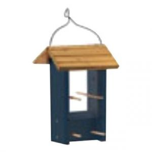 Audobon Wooden Finch Palance Feeder