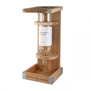 Woodlink Wine Bottle Cedar Bird Seed Feeder