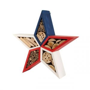 Woodlink Patriotic Red White & Blue Star Insect Shelter