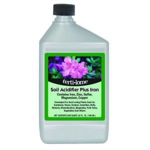 Fertilome Soil Acidifier Plus Iron