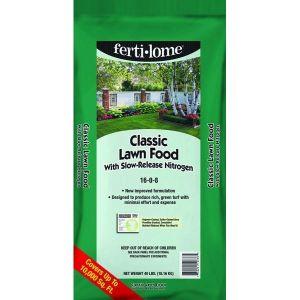Fertilome Classic Lawn Food Slow Release 16-0-8