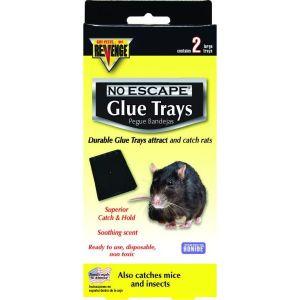 Bonide Revenge No Escape Rat Glue Trays