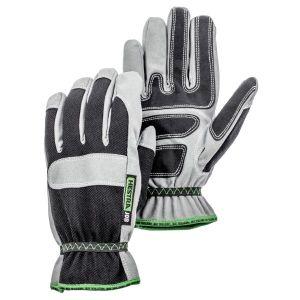 Hestra Anton Black / Grey Gloves