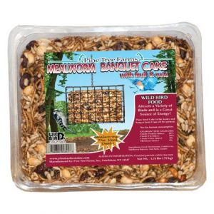 Pine Tree Farms Mealworm Banquet Large Seed Cake 1.75 lb