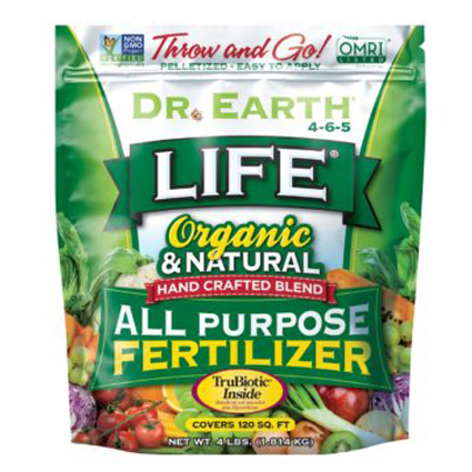 Dr. Earth Life Organic and Natural All Purpose Fertilizer