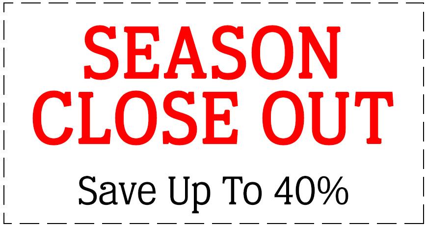 Season Close Out