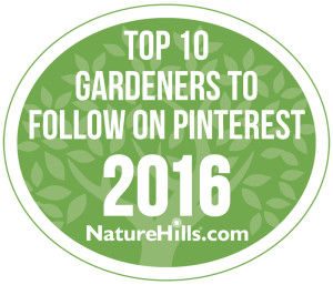 Top 10 Gardeners to follow on pinterest 2016
