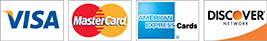 Nature Hills Proudly Accepts: VISA, Master Card, American Express and Discover Credit Cards